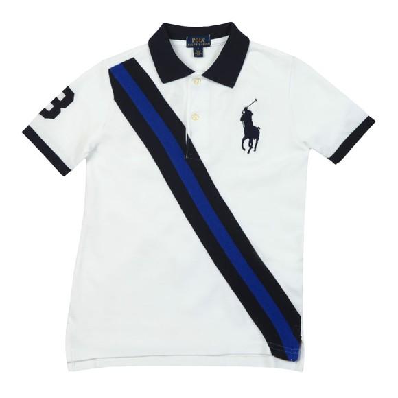 Polo Ralph Lauren Boys White KC Polo Shirt