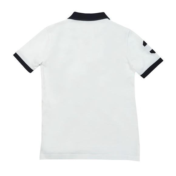 Polo Ralph Lauren Boys White KC Polo Shirt main image