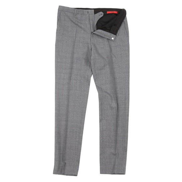 HUGO Mens Grey Hets 182 Trouser