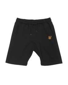 Sik Silk Mens Black Panel Relaxed Short