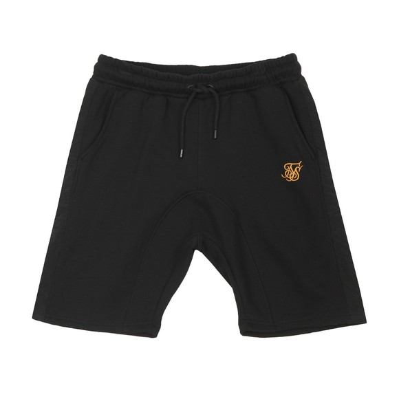 Sik Silk Mens Black Panel Relaxed Short main image