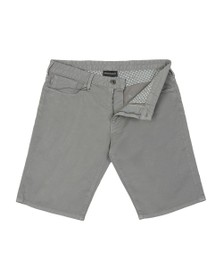 Emporio Armani Mens Grey 5 Pocket Chino Short