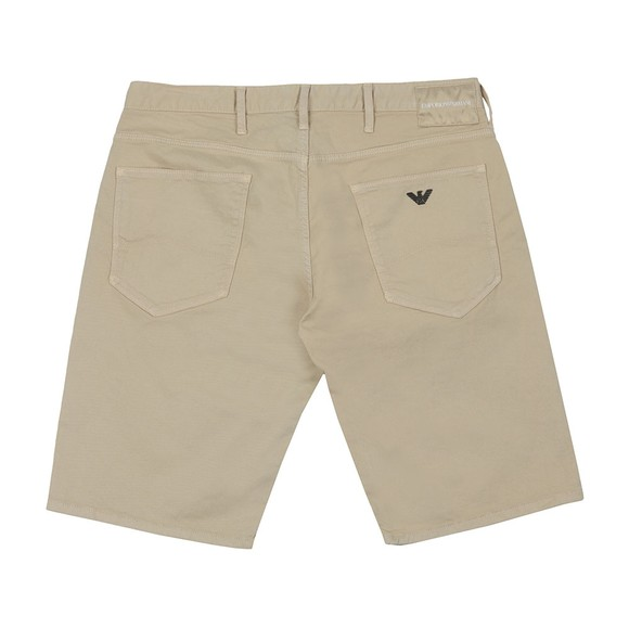 Emporio Armani Mens Beige 5 Pocket Chino Short