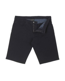Emporio Armani Mens Blue 5 Pocket Chino Short