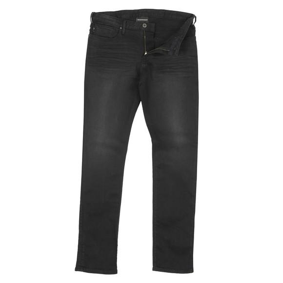 Emporio Armani Mens Black J06 Slim Jean main image