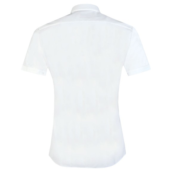 HUGO Mens White Empson-W Short Sleeve Shirt main image