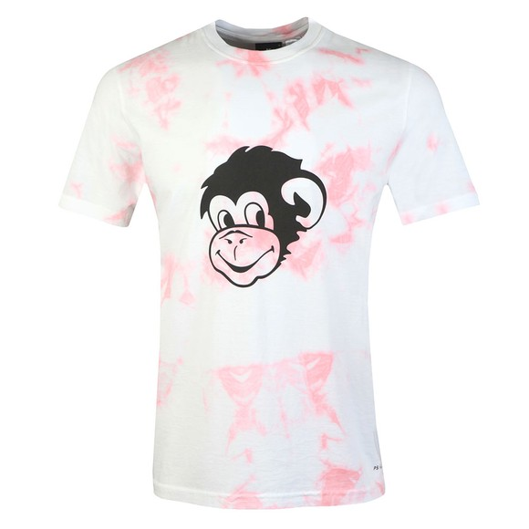 PS Paul Smith Mens Pink Tiedye T-Shirt