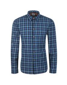 PS Paul Smith Mens Blue Check Shirt