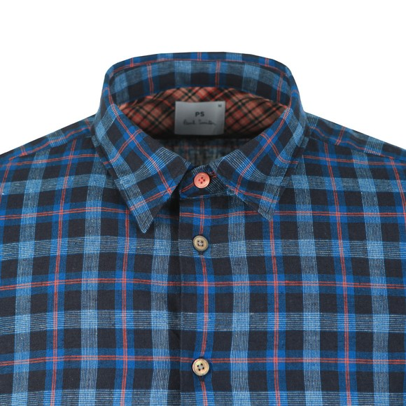 PS Paul Smith Mens Blue Check Shirt