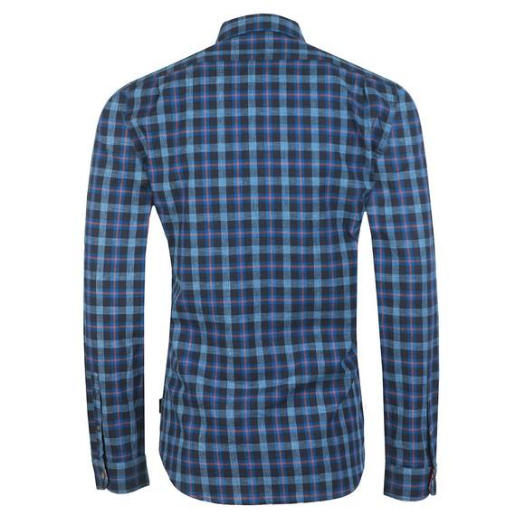 PS Paul Smith Mens Blue Check Shirt main image