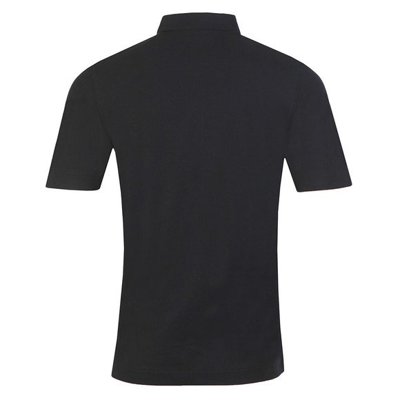 Fred Perry Mens Black Button Down Polo Shirt main image