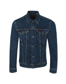 Levi's Mens Blue Denim Trucker Jacket