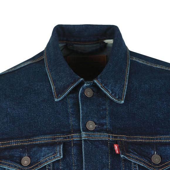 Levi's Mens Blue Denim Trucker Jacket main image