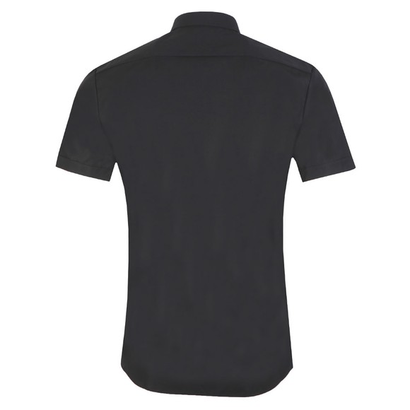HUGO Mens Black Empson-W Short Sleeve Shirt main image