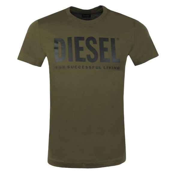 Diesel Mens Green Diego Logo T Shirt main image