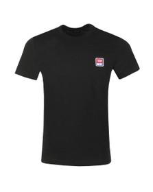 Diesel Mens Black Diego Division T-Shirt