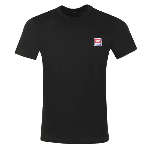 Diesel Mens Black Diego Division T-Shirt main image