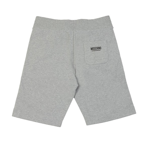 Moschino Mens Grey Tape Jersey Short