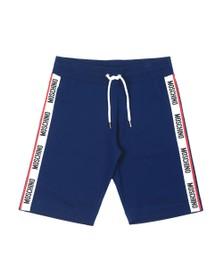 Moschino Mens Blue Tape Jersey Short