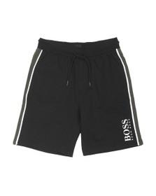 BOSS Bodywear Mens Black Authentic Block Logo Short