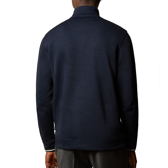 Ted Baker Mens Blue Floss Long Sleeved Funnel Neck Jumper main image