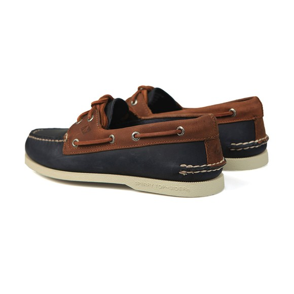 Sperry Mens Blue A/O Eye 2 Boat Shoe main image