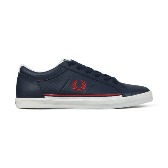 Fred Perry Mens Blue Baseline Perf Trainer main image