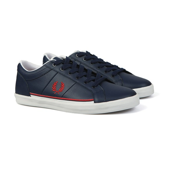Fred Perry Mens Blue Baseline Perf Trainer