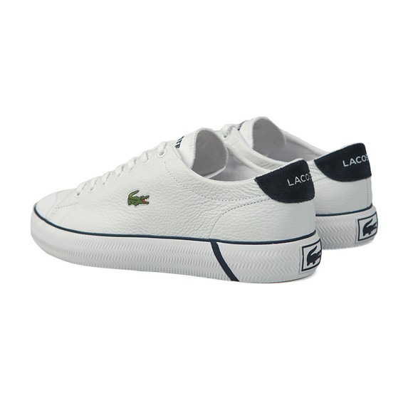 Lacoste Mens White Gripshot Trainer main image