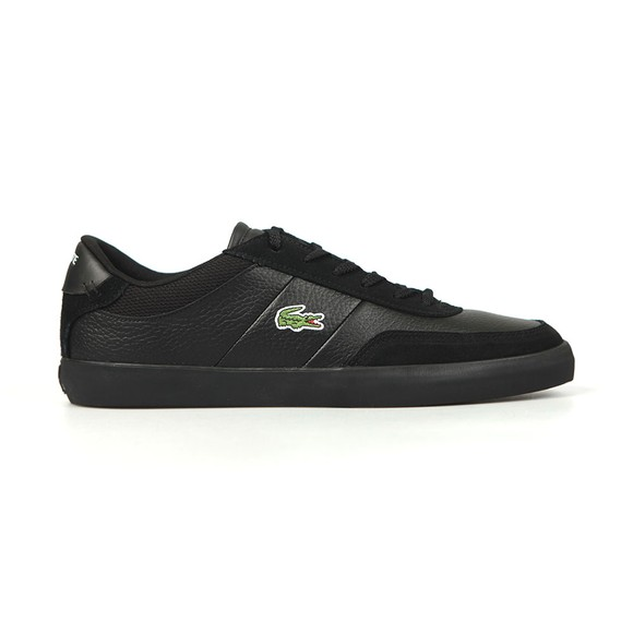 Lacoste Mens Black Court-Master 120 Trainer