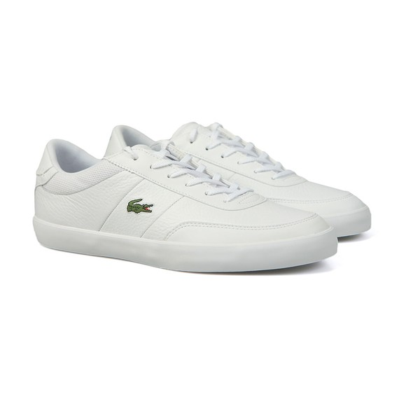 Lacoste Mens White Court-Master 120 Trainer