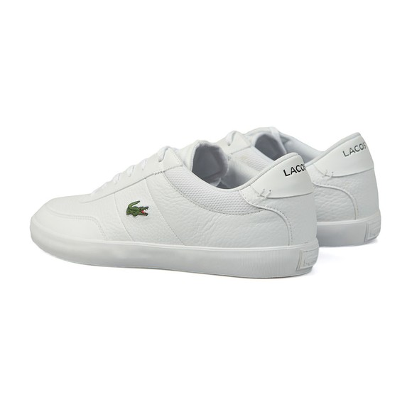 Lacoste Mens White Court-Master 120 Trainer main image
