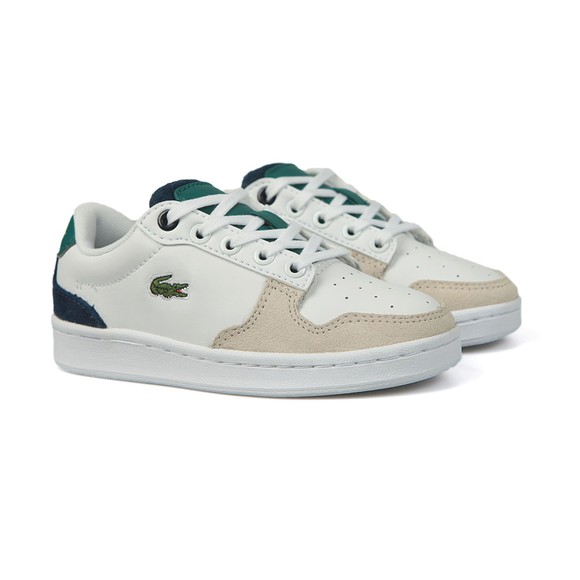 Lacoste Boys White Boys Masters Cup 120 Trainer main image