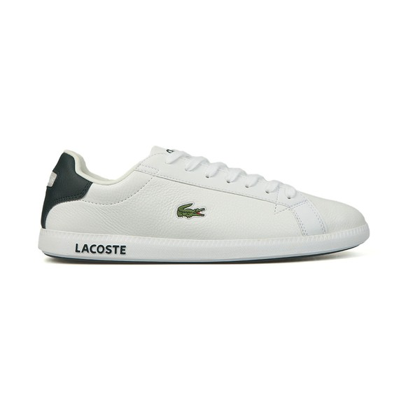Lacoste Sport Mens White Graduate LCR Trainer main image