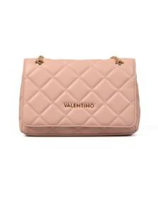 Valentino by Mario Womens Pink Ocarina Satchel