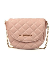 Valentino by Mario Womens Pink Ocarina Small Quilted Bag