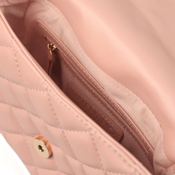 Valentino by Mario Womens Pink Ocarina Small Quilted Bag main image