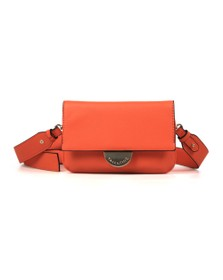 Valentino by Mario Womens Orange Falcor Small Bag