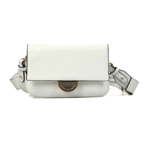 Valentino by Mario Womens White Falcor Small Bag