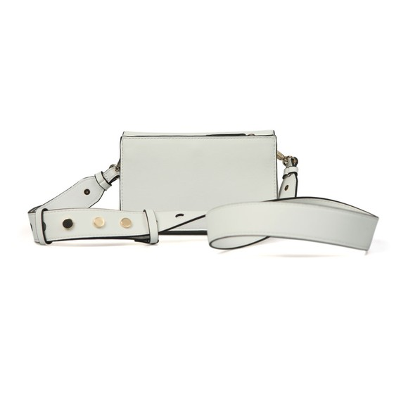 Valentino by Mario Womens White Falcor Small Bag main image
