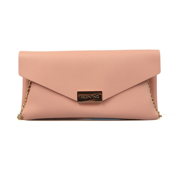 Valentino by Mario Womens Pink Appie Clutch Bag
