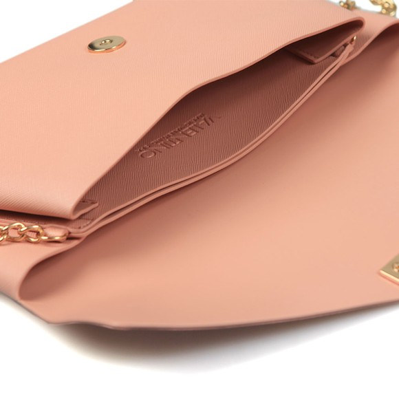 Valentino by Mario Womens Pink Appie Clutch Bag main image