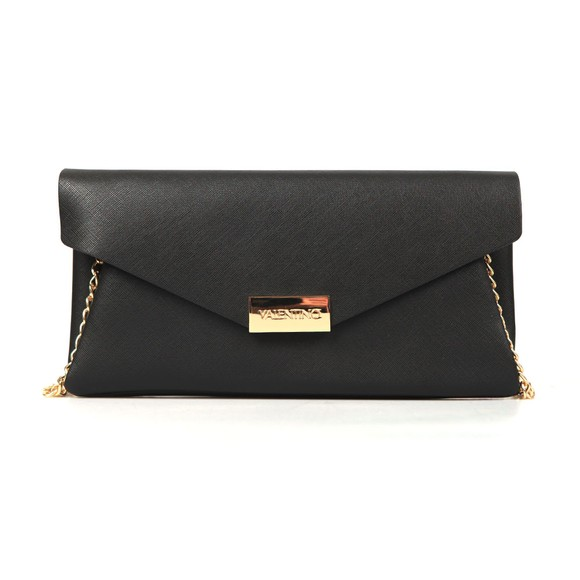 Valentino by Mario Womens Black Appie Clutch Bag