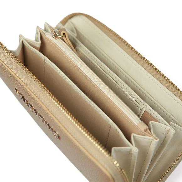 Valentino by Mario Womens Gold Divina Zip Around Purse main image