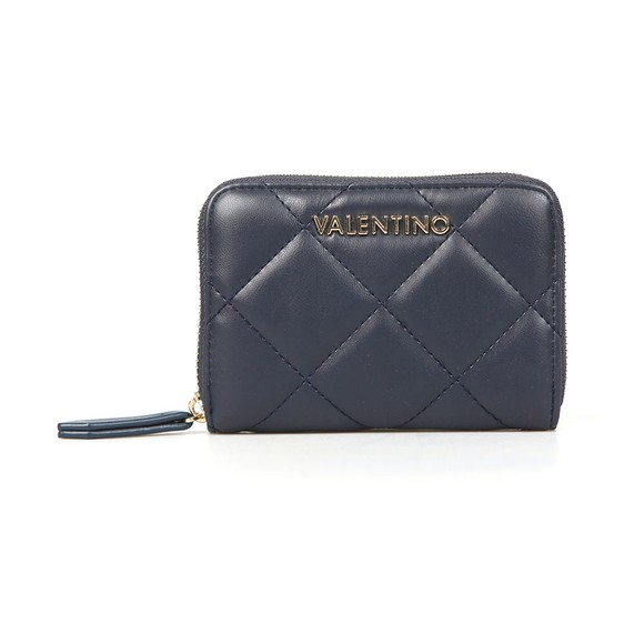 Valentino by Mario Womens Blue Ocarina Purse
