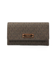 Michael Kors Womens Brown Jet Set Purse
