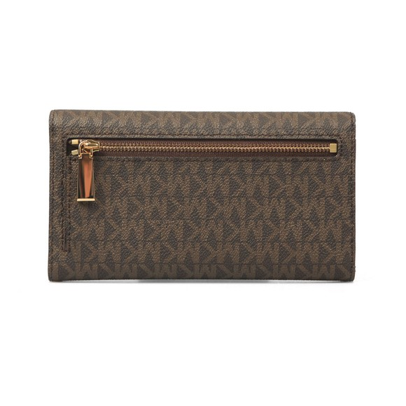 Michael Kors Womens Brown Jet Set Purse main image