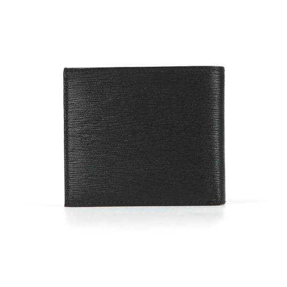 Ted Baker Mens Black Woodgrain Bifold Wallet main image