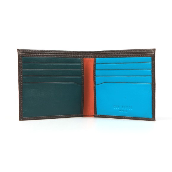 Ted Baker Mens Brown Bifold Wallet main image