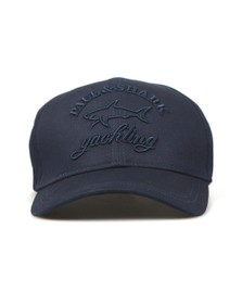 Paul & Shark Mens Blue Large Tonal Logo Cap